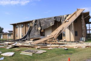 storm damaged apartment - insurance claim denial attorneys